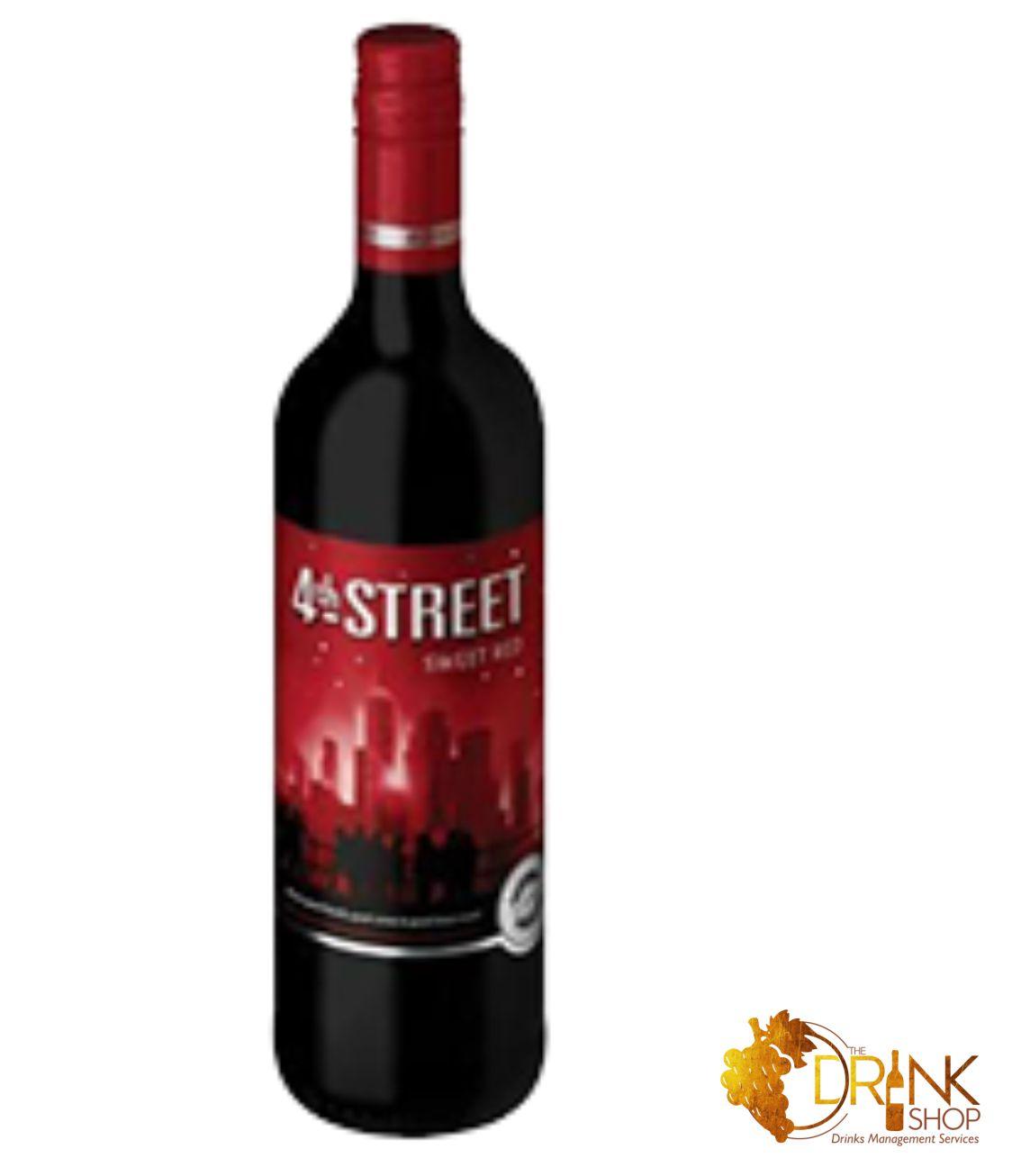 4th Street Sweet Red Wine 75cl The Drink Shop Nigeria Buy Drinks Online